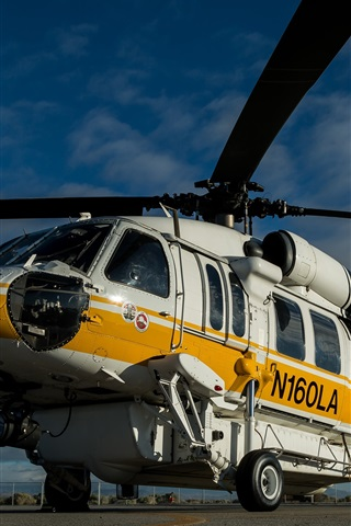 iPhone Papéis de Parede Helicóptero de transporte Sikorsky S-70A