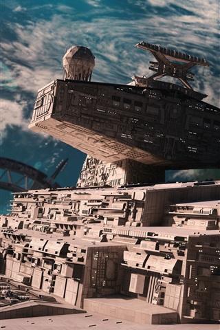 iPhone Wallpaper Star Destroyer, Star Wars: Battlefront
