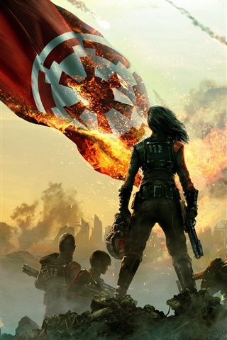 iPhone Papéis de Parede Star Wars Battlefront II: Esquadrão de Inferno