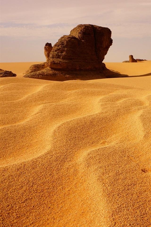 壁纸 阿尔及利亚,沙丘,沙漠,石头 1920x1200 HD 高清壁纸, 图片, 照片