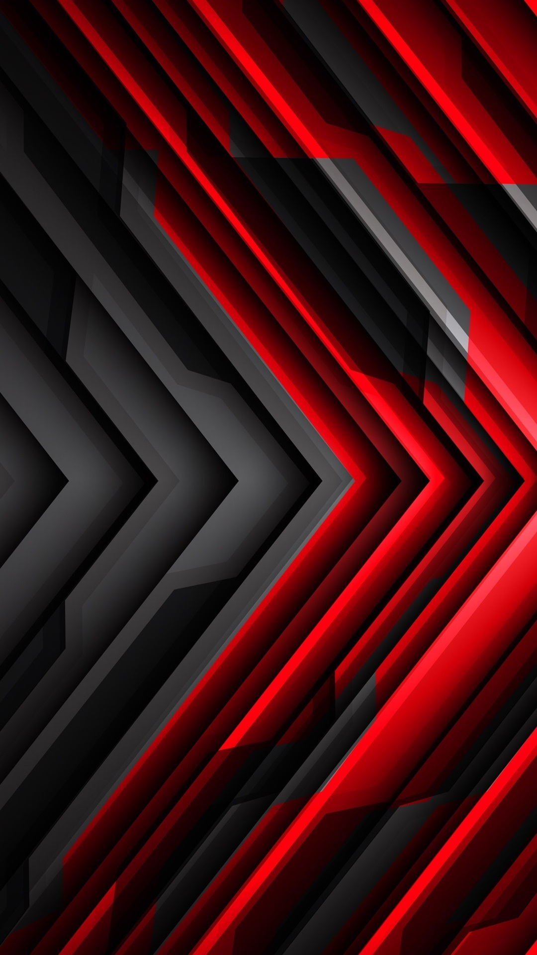 Black And Red >> Black And Red Striped Arrow Abstract 1080x1920 Iphone 8 7 6 6s Plus
