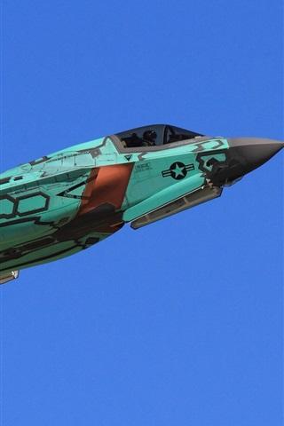 iPhone Papéis de Parede Bombardeiro F-35A Lightning II