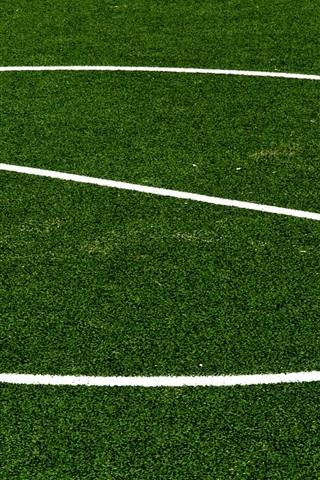 iPhone Wallpaper Football lawn