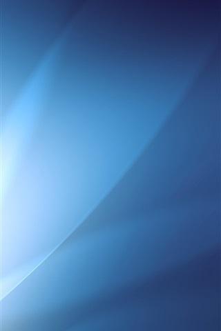 iPhone Papéis de Parede Brilho abstrato azul