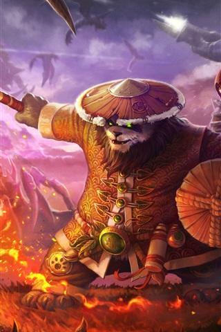 iPhone Wallpaper Panda, Heroes of the Storm