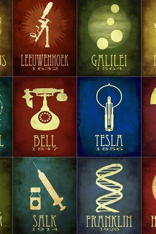 iPhone Wallpaper Science, discovery and invention, time