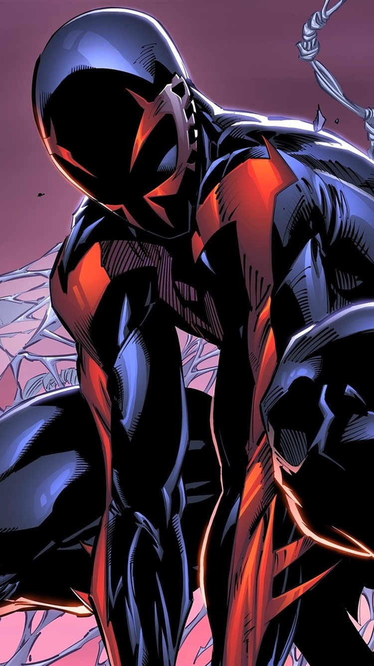 Spider Man 2099 Marvel Comics 750x1334 Iphone 8 7 6 6s Wallpaper