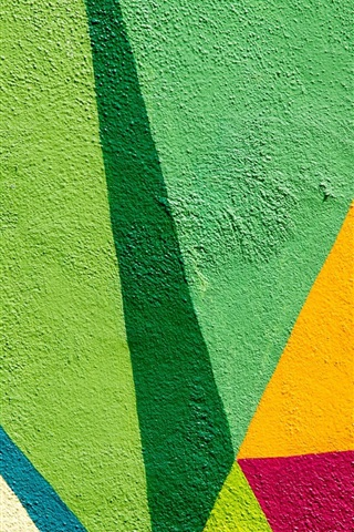 iPhone Wallpaper Wall, colorful paint, graffiti