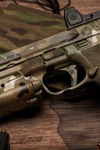 Camouflage Gun Weapon 1080x1920 Iphone 8766s Plus