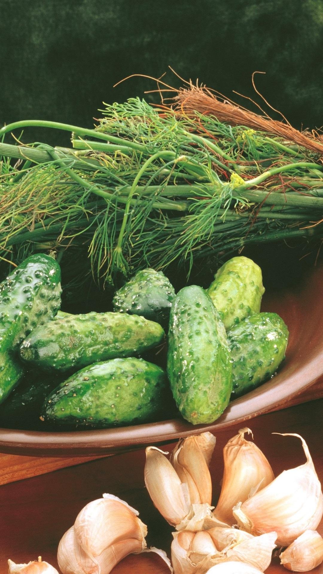 壁纸 黄瓜,大蒜,蔬菜 3840x2160 UHD 4K 高清壁纸, 图片, 照片