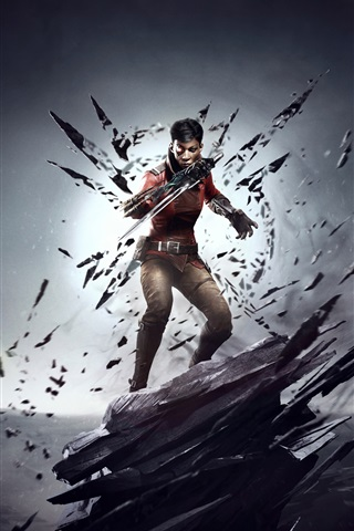 iPhone Wallpaper Dishonored: Death Of The Outsider