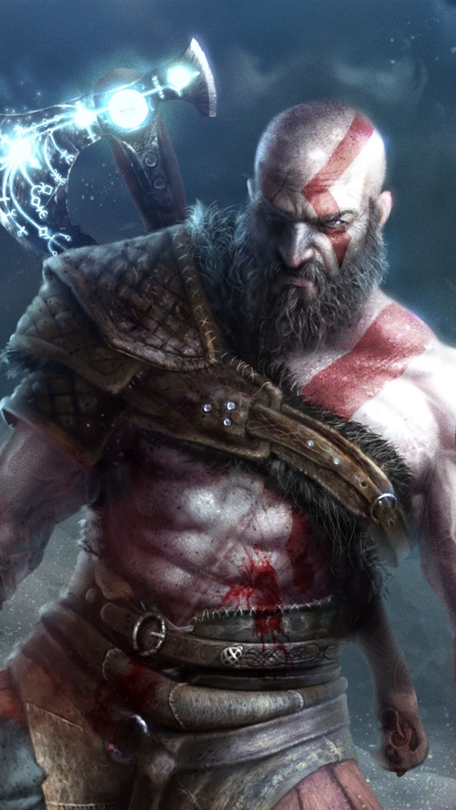 God Of War 4 Video Games 750x1334 Iphone 8766s Wallpaper