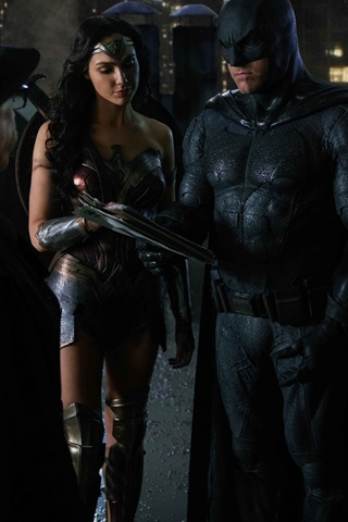 iPhone Hintergrundbilder Justice League, Wonder Woman, Batman, Der Blitz