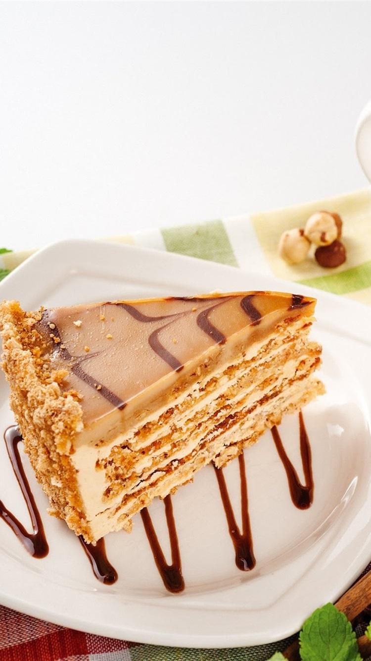 ワンピースケーキ お茶 750x1334 Iphone 8 7 6 6s 壁紙 背景 画像