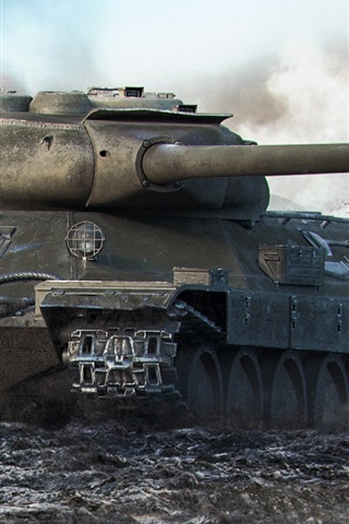 iPhone Wallpaper World of Tanks, popular net games