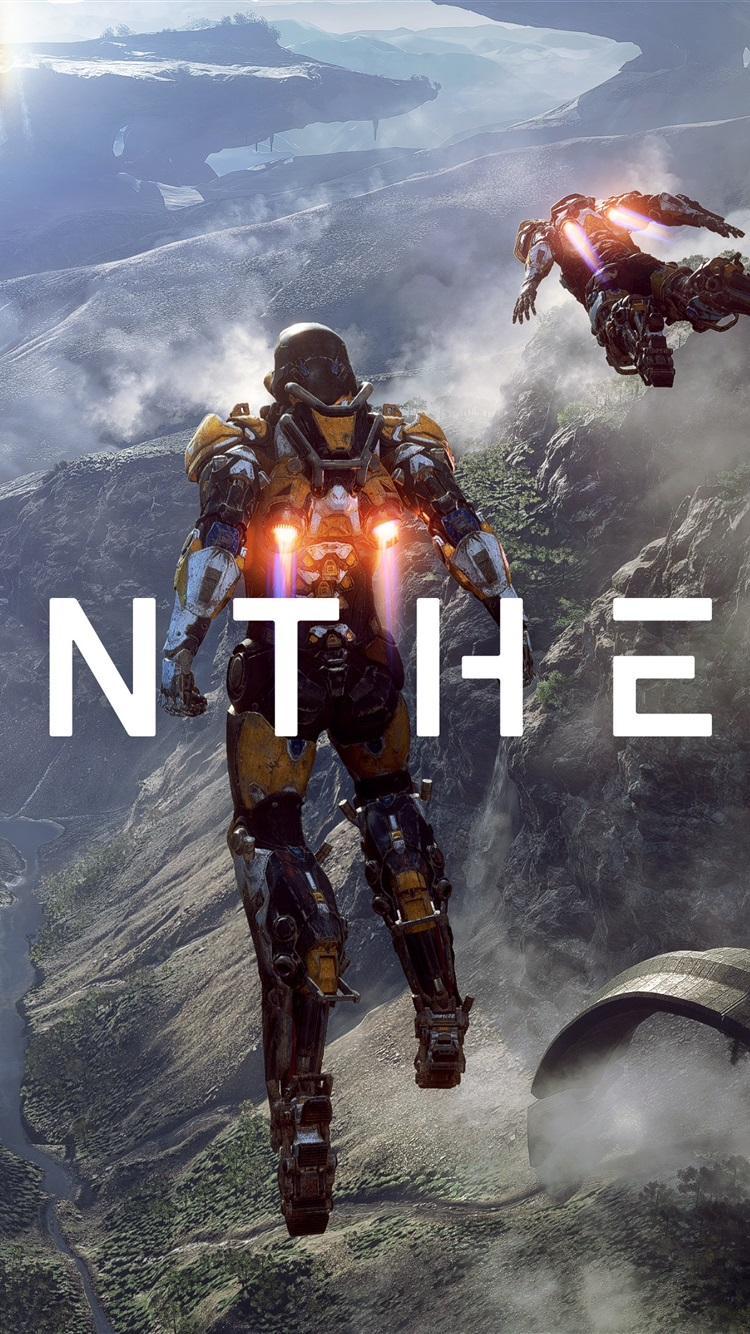 Wallpaper Anthem, video game, robot, action to flying ...