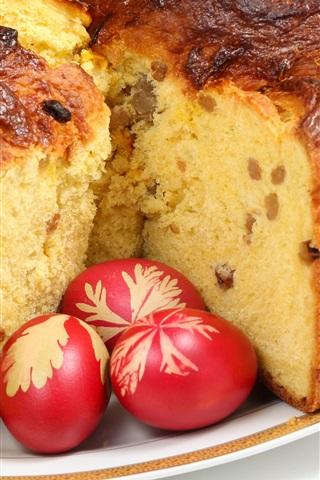 iPhone Wallpaper Cake, eggs, food