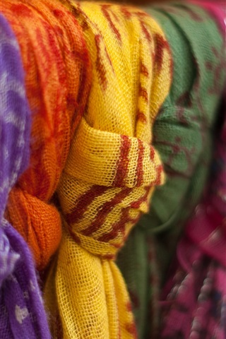 iPhone Wallpaper Colorful shawls