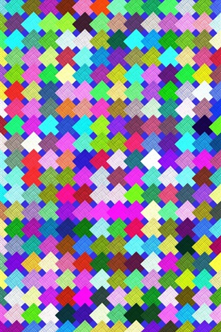 iPhone Wallpaper Colorful squares texture background