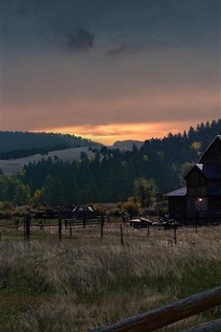 iPhone Papéis de Parede Far Cry 5, fazenda, aldeia