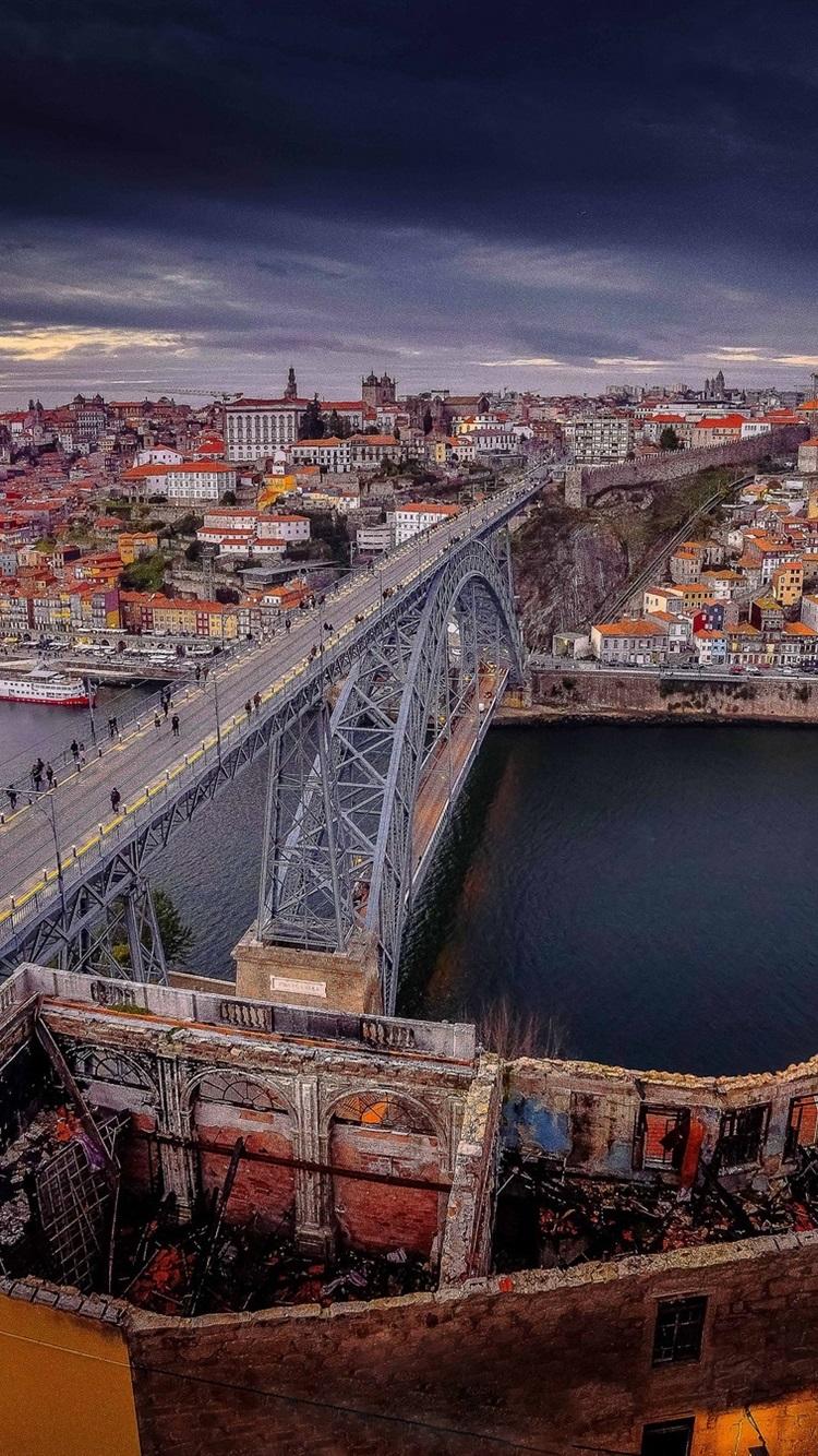 Обои Португалия, старый город, порто. Города foto 8