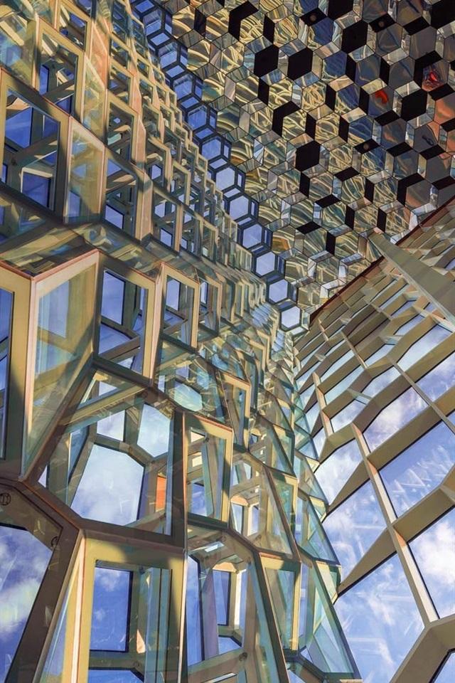 Wallpaper Reykjavik Harpa Iceland Concert Hall