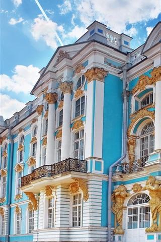 iPhone Wallpaper Russia, Saint Petersburg, Catherine Palace