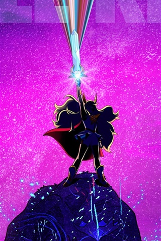 iPhone Wallpaper She-Ra: Princess of Power