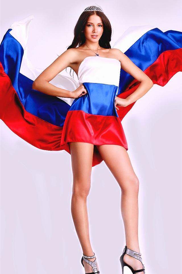 необычные фото с флагом россии надеждой