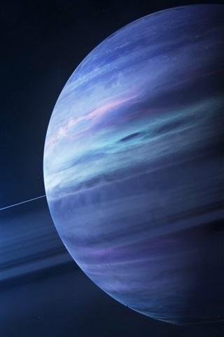 iPhone Papéis de Parede Sistema solar, Júpiter, satélite, sol, espaço