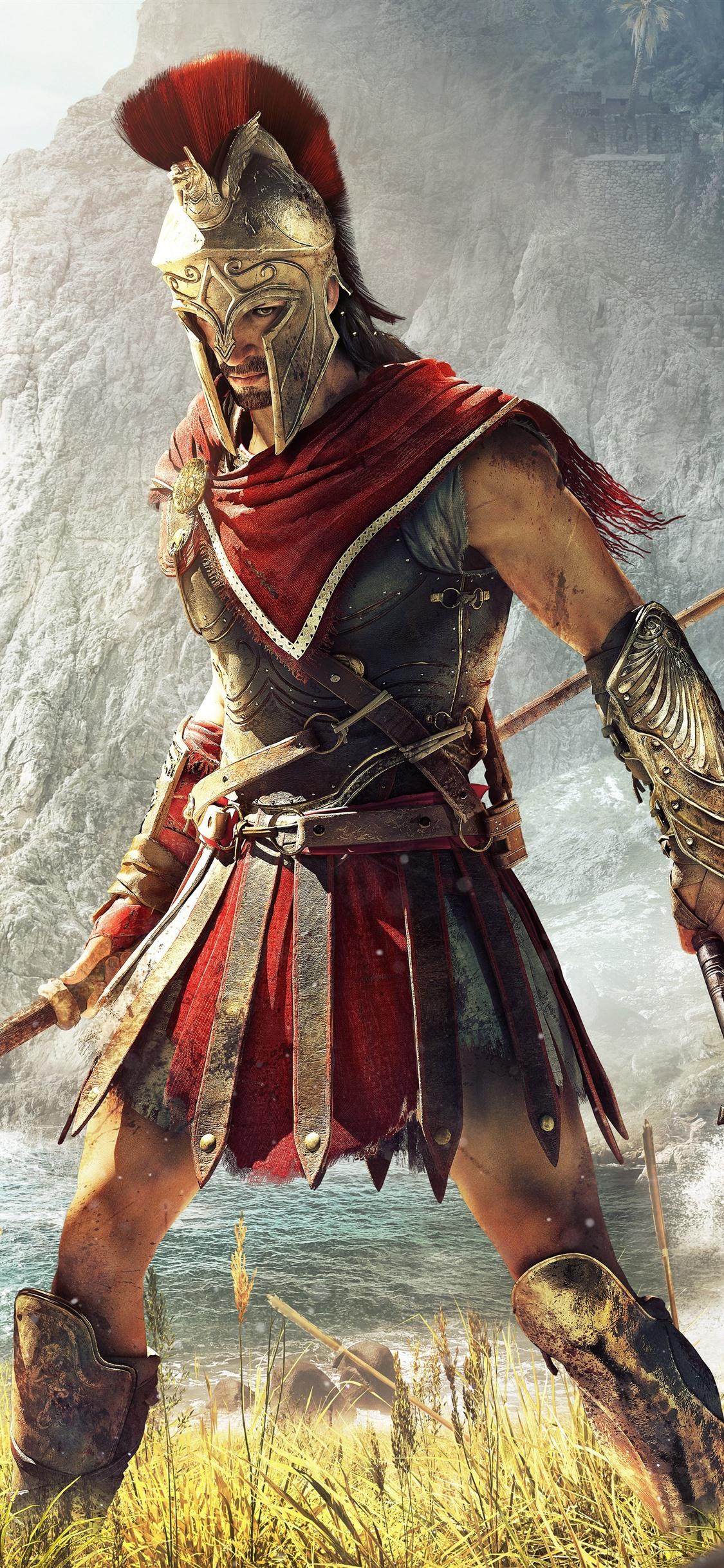 Assassin S Creed Odyssey Ubisoft Game 1125x2436 Iphone 11 Pro Xs