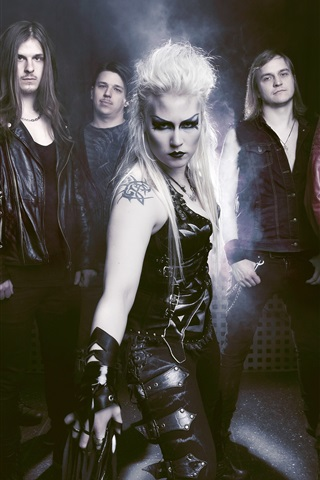 iPhone Wallpaper Battle Beast, Finland Heavy metal band