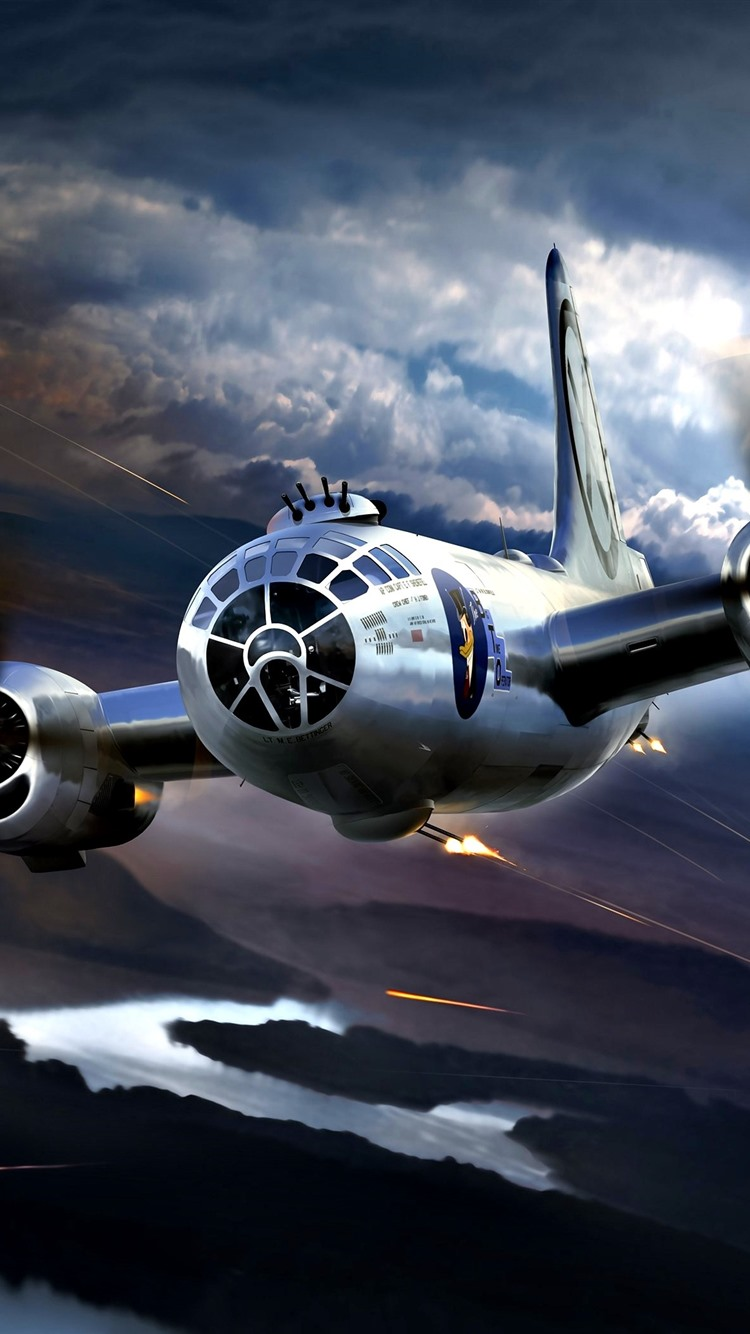 29 Best Young Selfies Images On Pinterest: Wallpaper Boeing B-29 Superfortress, Attack, War 2880x1800