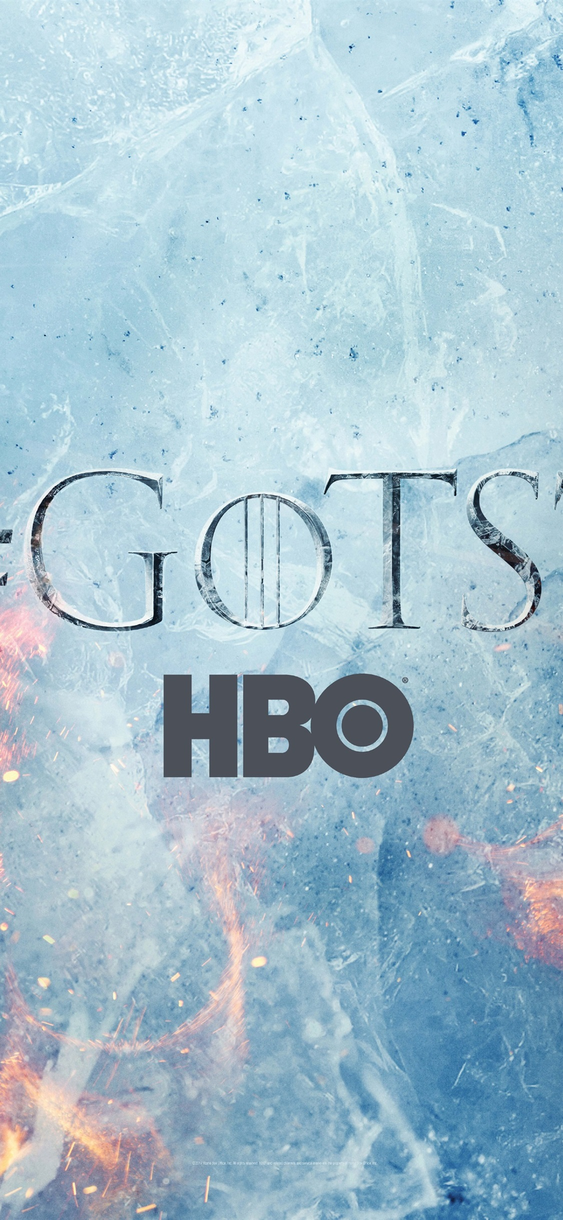 Game Of Thrones Season 7 Logo 1125x2436 Iphone 11 Pro Xs X Wallpaper Background Picture Image