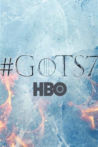 iPhone Wallpaper Game Of Thrones, season 7, logo