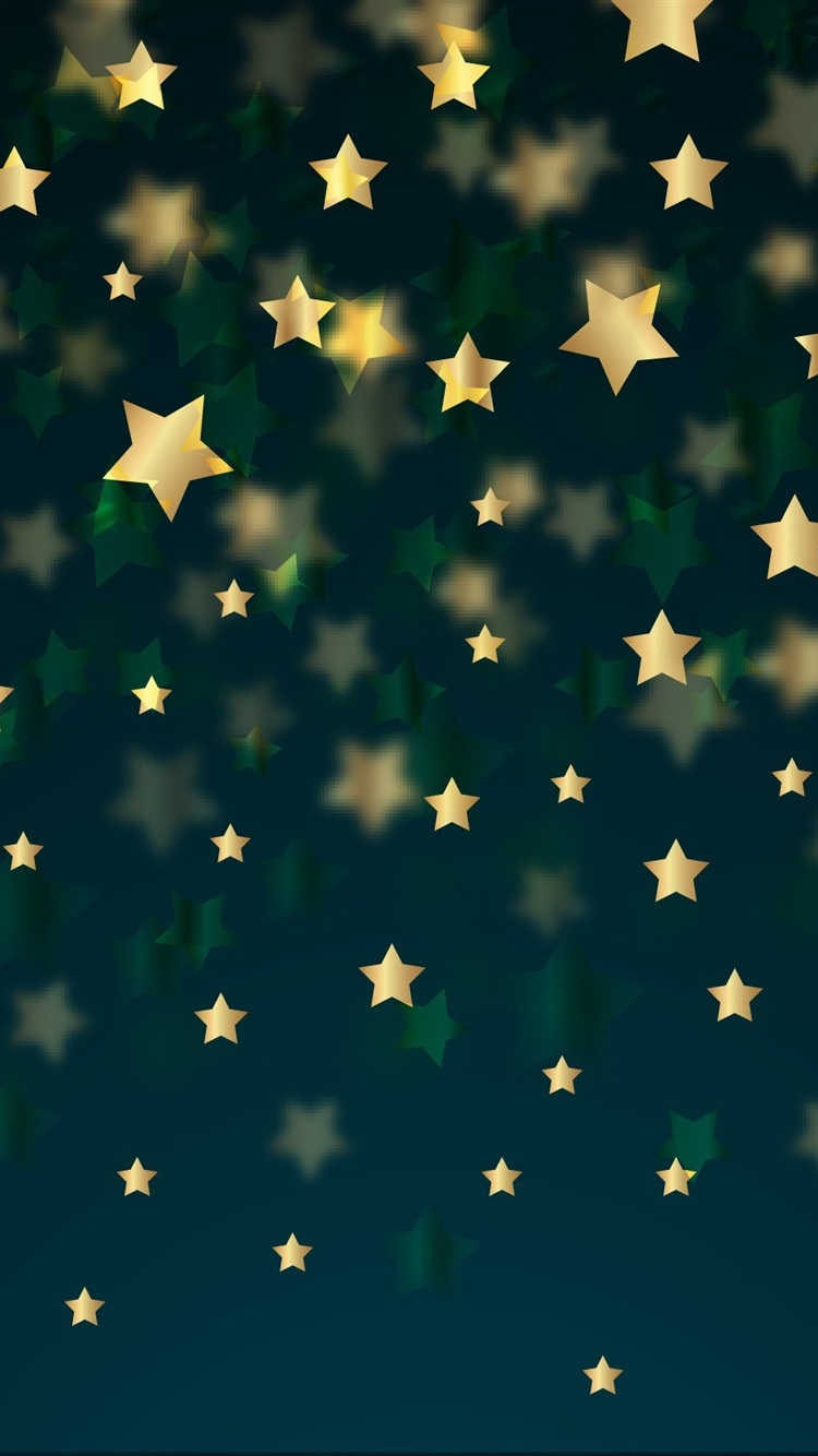 Golden Stars Background 750x1334 Iphone 8 7 6 6s Wallpaper