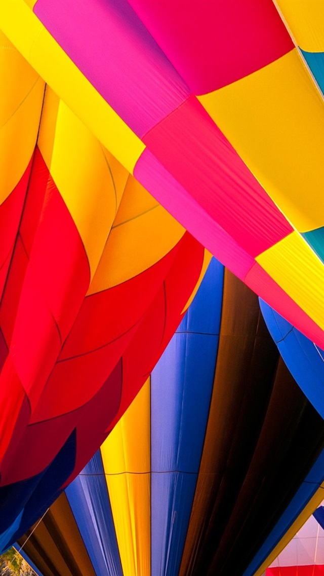 Hot Air Balloons Colorful Colors 640x1136 Iphone 5 5s 5c Se