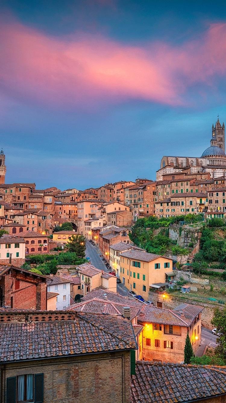 Обои тоскана, italy, крыши, Tuscany, сиена, здания. Города foto 8