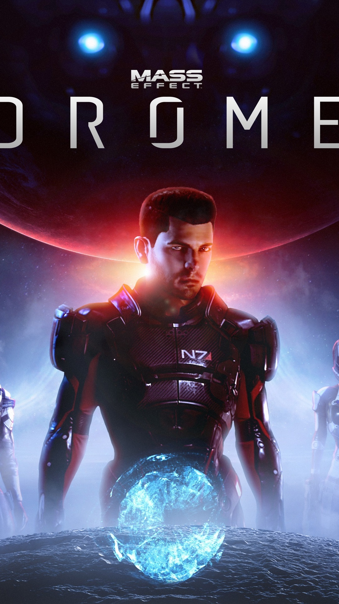 Mass Effect Andromeda Action Role Playing Game 1080x1920