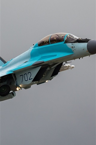 iPhone Wallpaper MiG-35 multifunction light fighter
