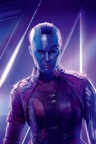 iPhone Wallpaper Nebula, Avengers: Infinity War