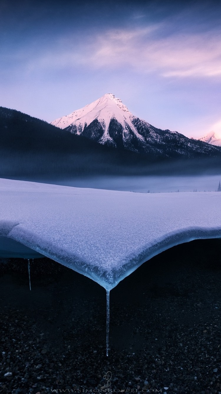 Wallpaper Snow Ice Mountains Winter 1920x1200 Hd Picture