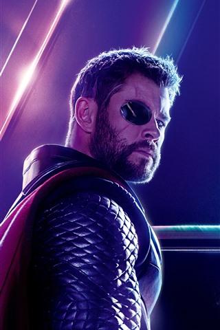 iPhone Wallpaper Thor, Avengers: Infinity War