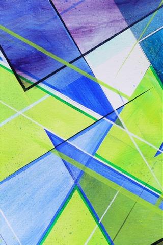 iPhone Papéis de Parede Formas abstratas, cores
