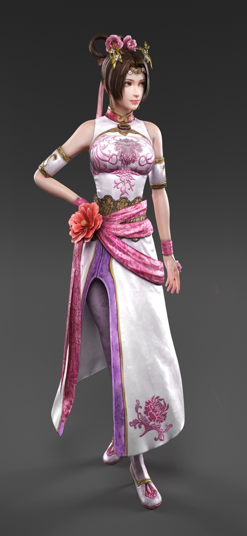 3D Asian Girl beautiful 3d girls, asian, three side views 828x1792 iphone