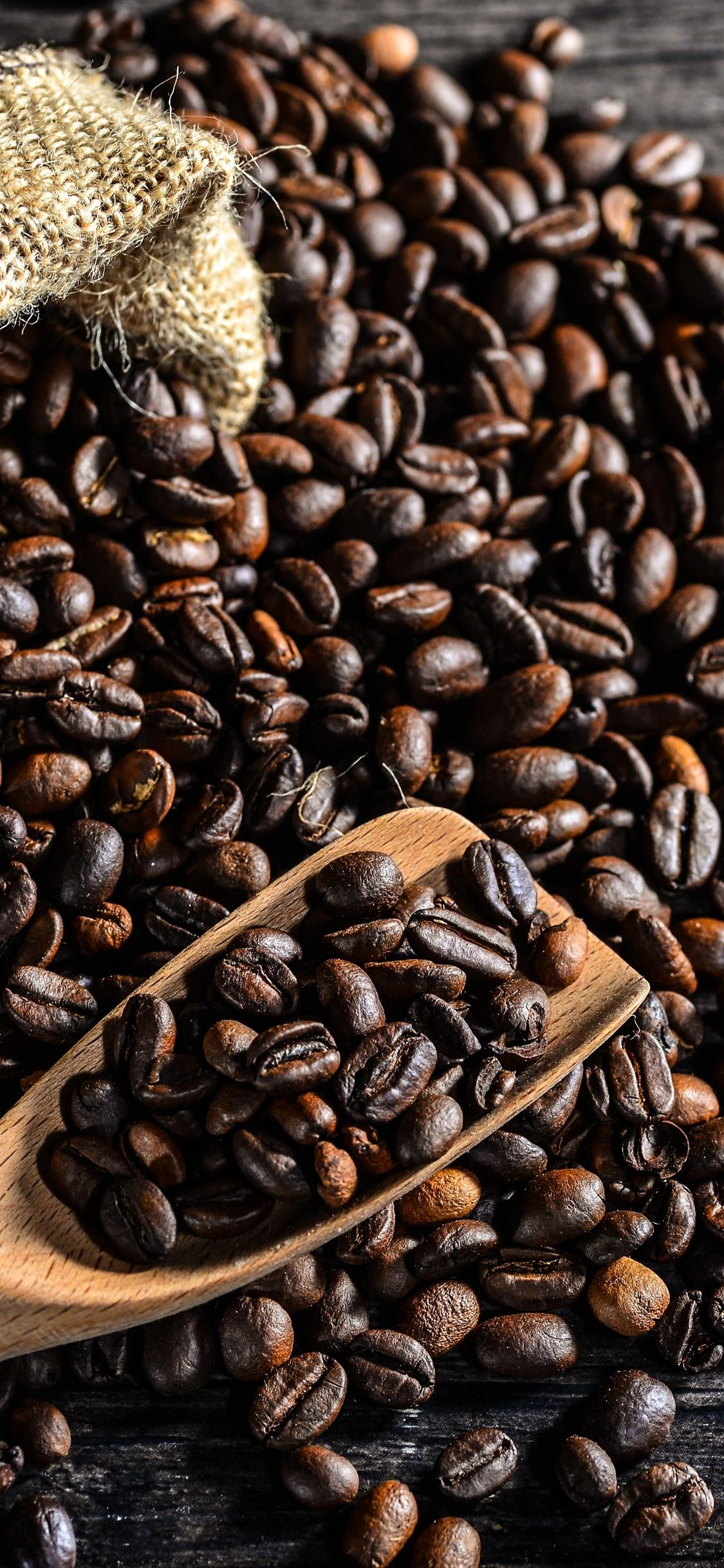 Coffee Beans Bag 1125x2436 Iphone Xs X Wallpaper