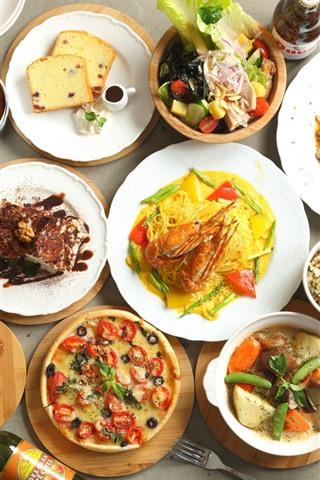 iPhone Wallpaper Delicious meals