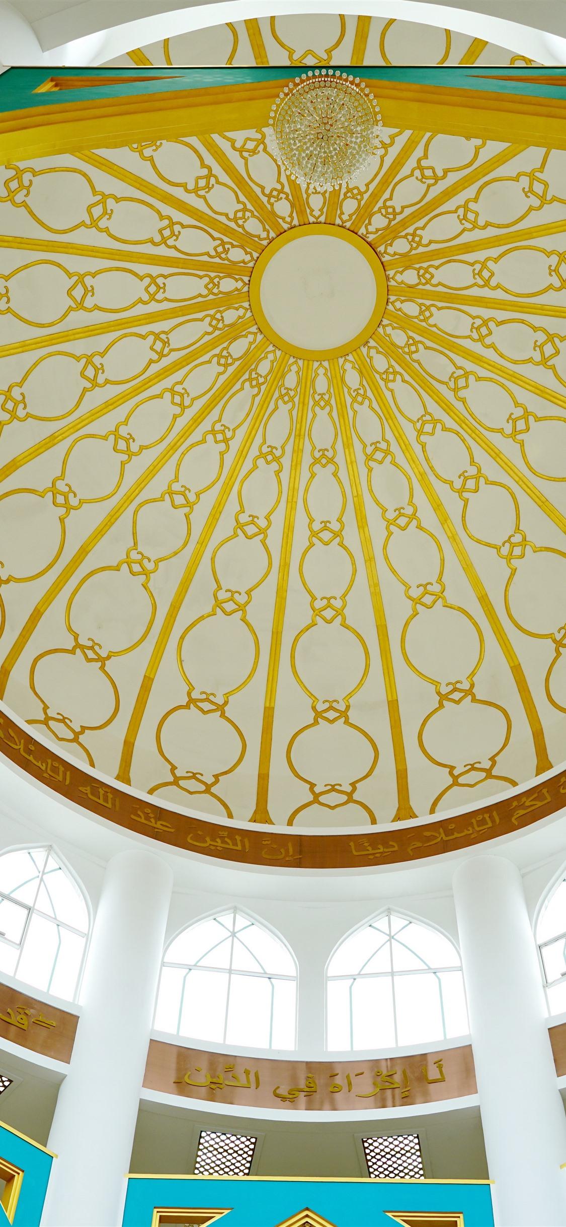 Islamic Church Dome 1125x2436 Iphone Xsx Wallpaper