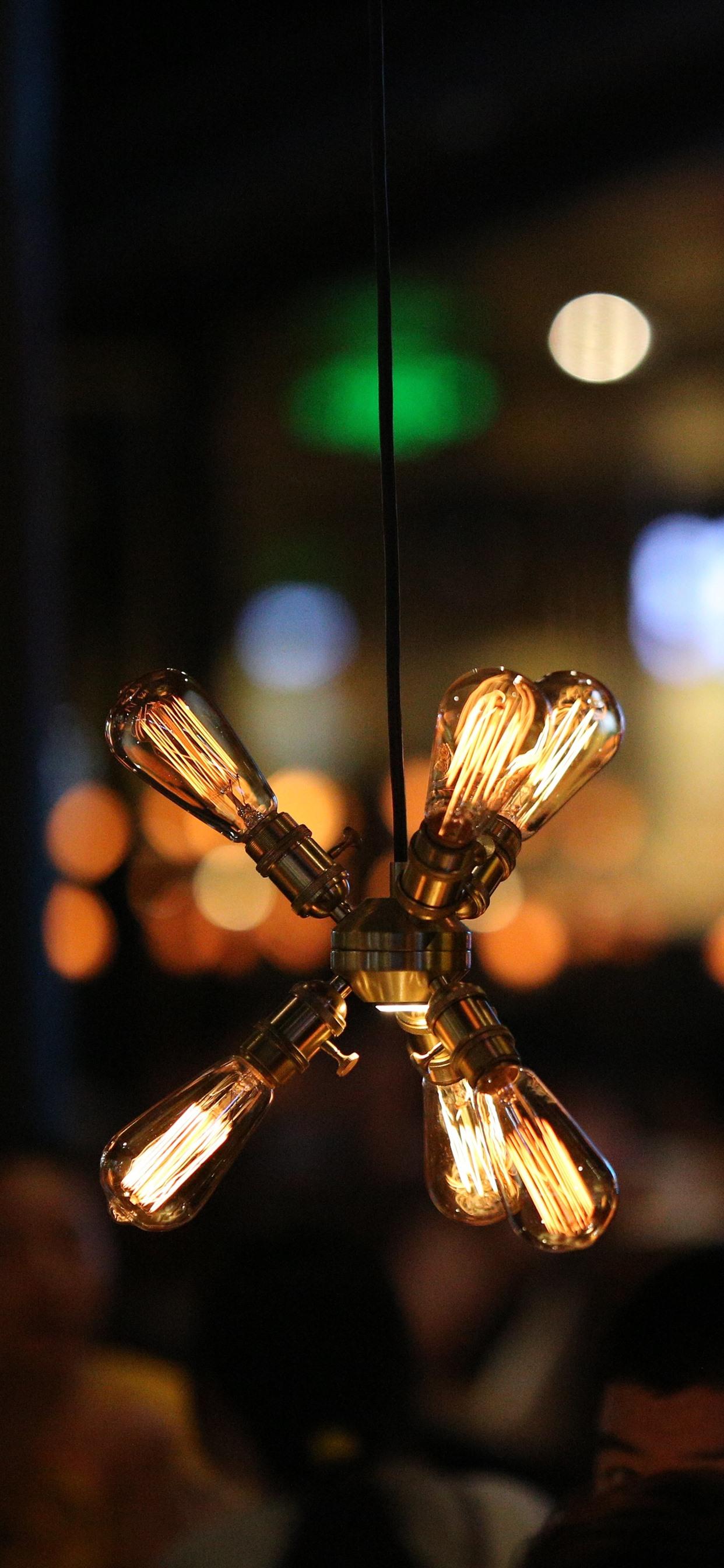 Light Bulb Warm Night 1242x2688 Iphone Xs Max Wallpaper