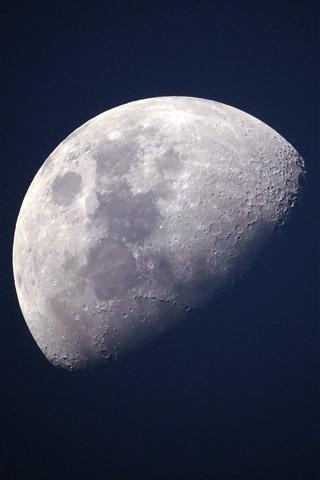 壁纸 月亮,宇宙,黑色背景 2880x1800 Hd 高清壁纸 图片 照片